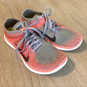 Nike women's 7 Free RN Flyknit Running Shoe